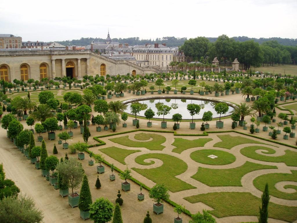 A stunning formal garden.